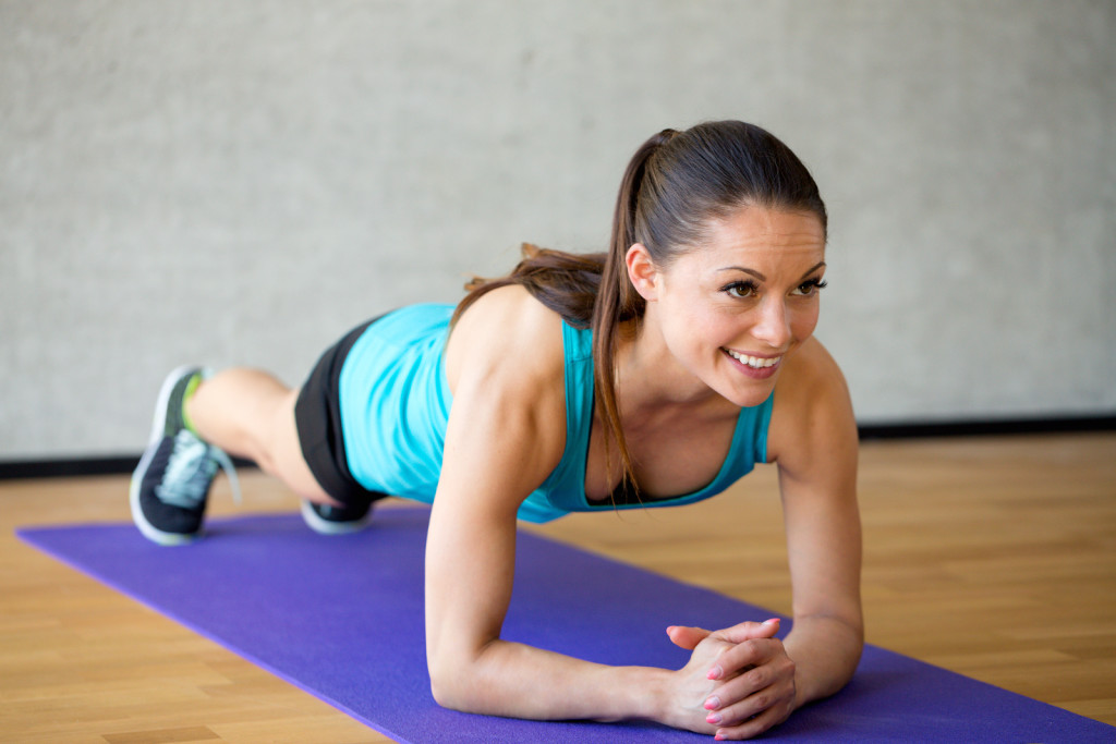 Planking-Übungen