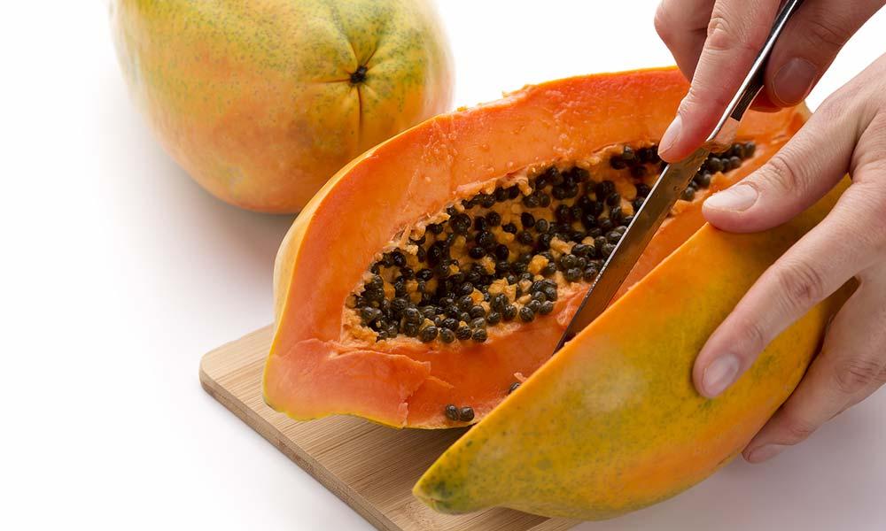 papaya kerne so gesund wie die ganze frucht. Black Bedroom Furniture Sets. Home Design Ideas